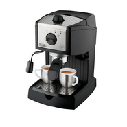 DeLONGHI Pump Driven Espresso/Cappuccino Maker - Black/Silver at Sears.com
