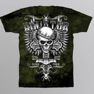Sinister Men's Graphic T-Shirt - Winged Skull at Kmart.com