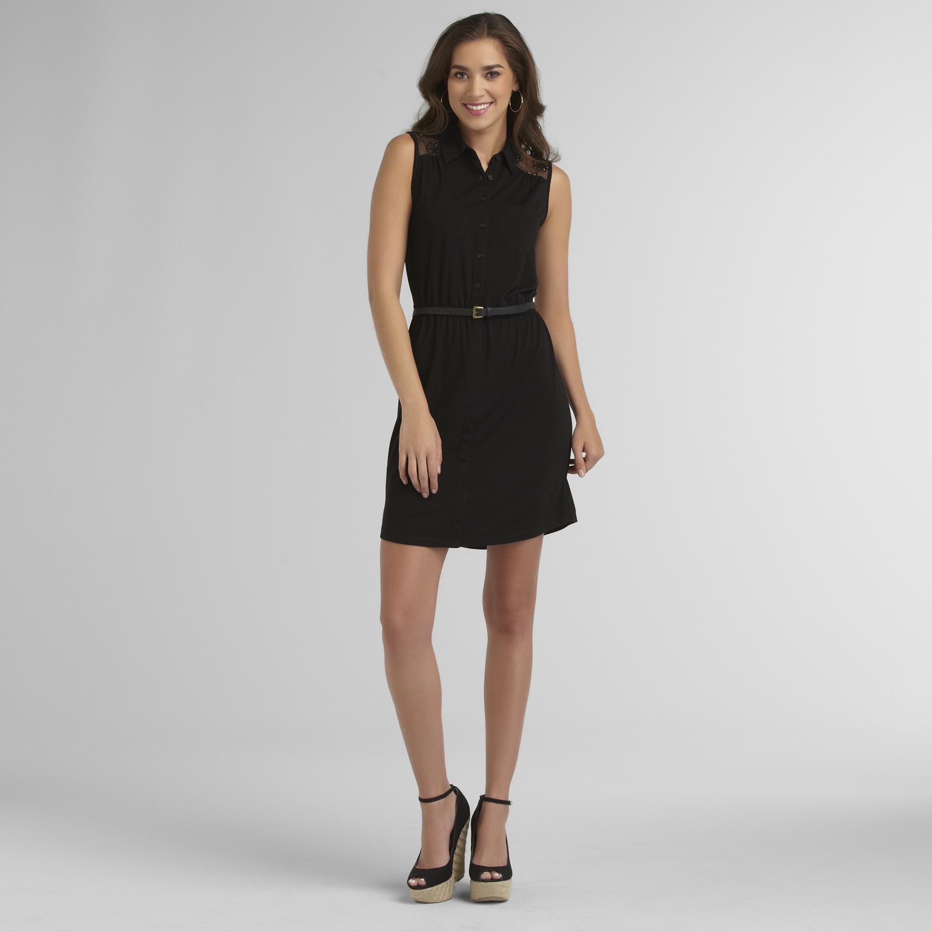Attention Women's Lace Yoke Dress at Kmart.com