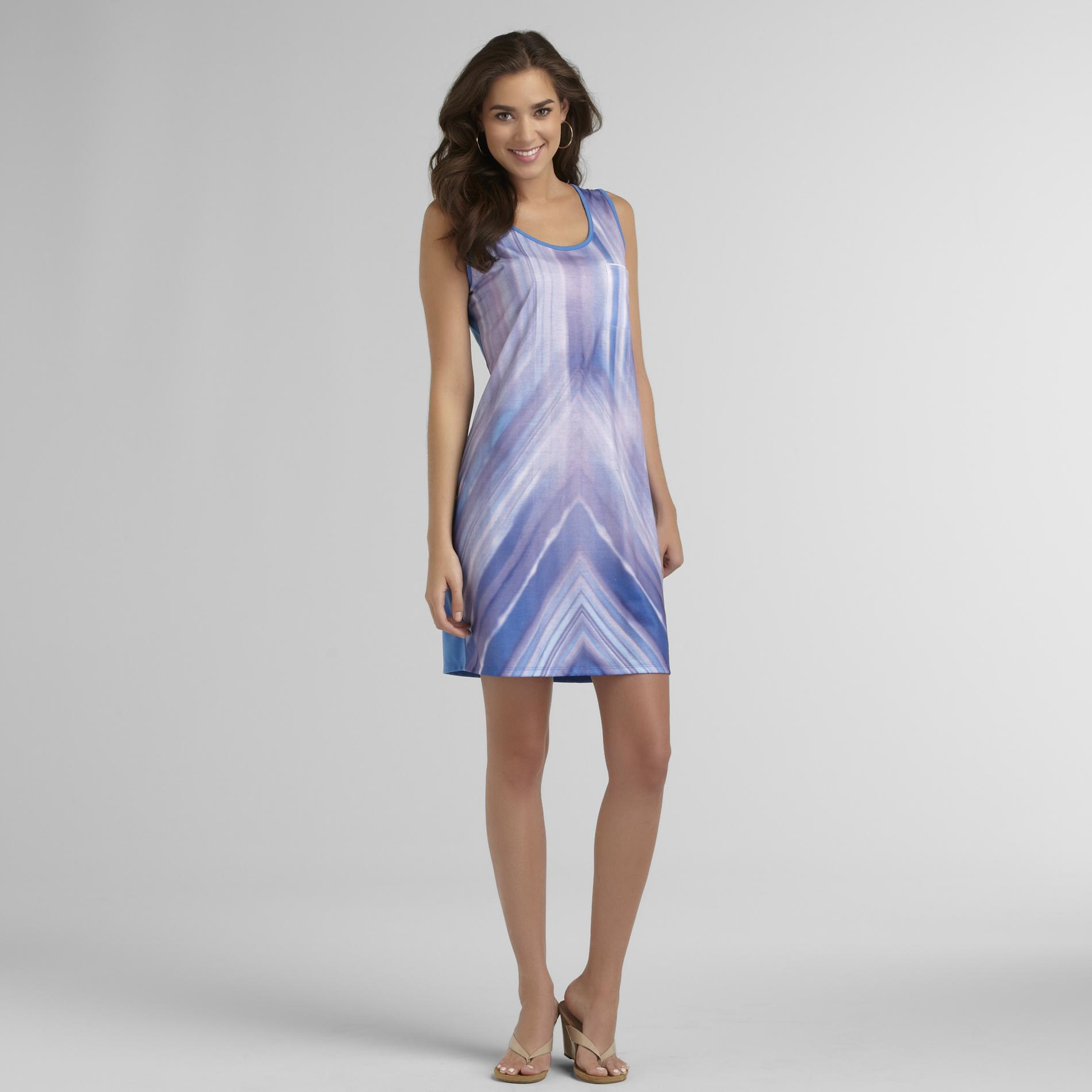 Route 66 Women's Tank Dress - Gradient Stripes at Kmart.com