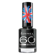 Rimmel 60 Seconds Nail Polish, Hot Black to Go, .27 fl oz at Kmart.com