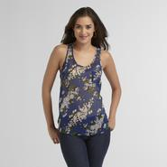 Route 66 Women's Woven Tank Top - Floral at Kmart.com
