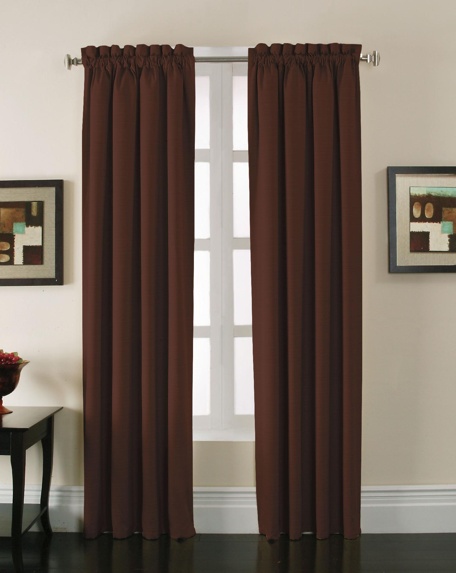 Brown Stockton Blackout Window Panel