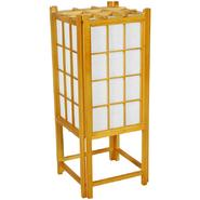 "Oriental Furniture 18"" Window Pane Shoji Lamp - Honey at Kmart.com"