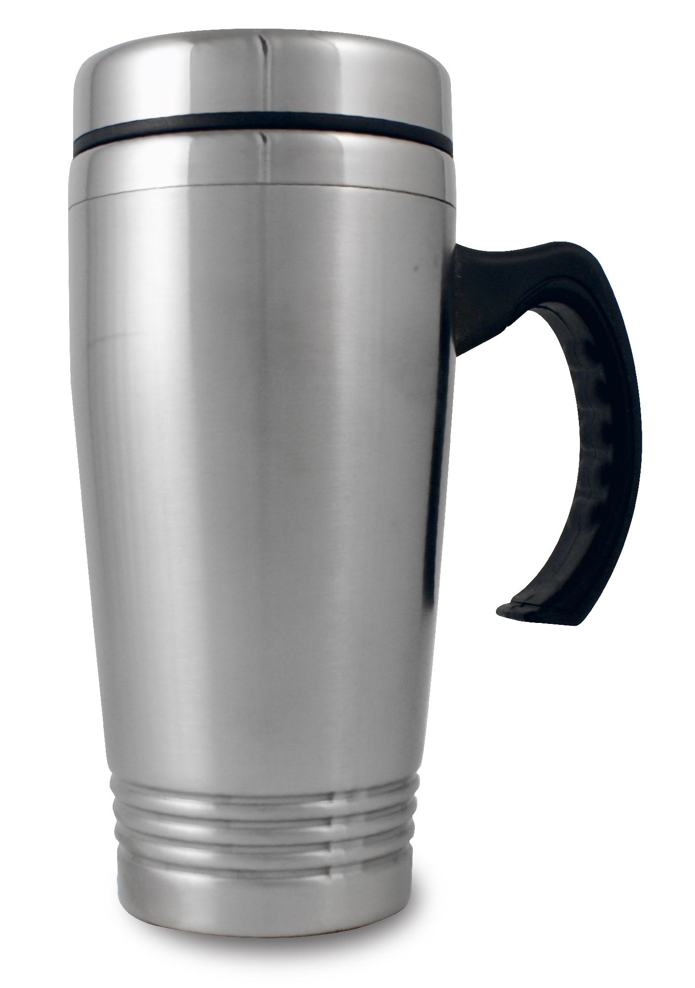 Stainless Steel Inside & Outside Travel Mug