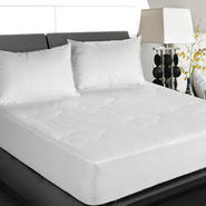 Cotton Loft 100% Cotton White Cottonloft Mattress Pad at Kmart.com