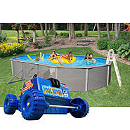 15'  x 30' Oval Above Ground Pool and Rover Cleaner Bundle at Sears.com