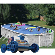 18' x 33' Oval Above Ground Pool with Rover Cleaner Bundle at Sears.com