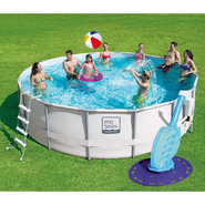 16' Round Above Ground Pool and Cleaner Bundle at Sears.com
