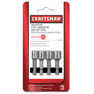 Craftsman 4 pc. Speed-Lok™ Nut Setter Set at Craftsman.com