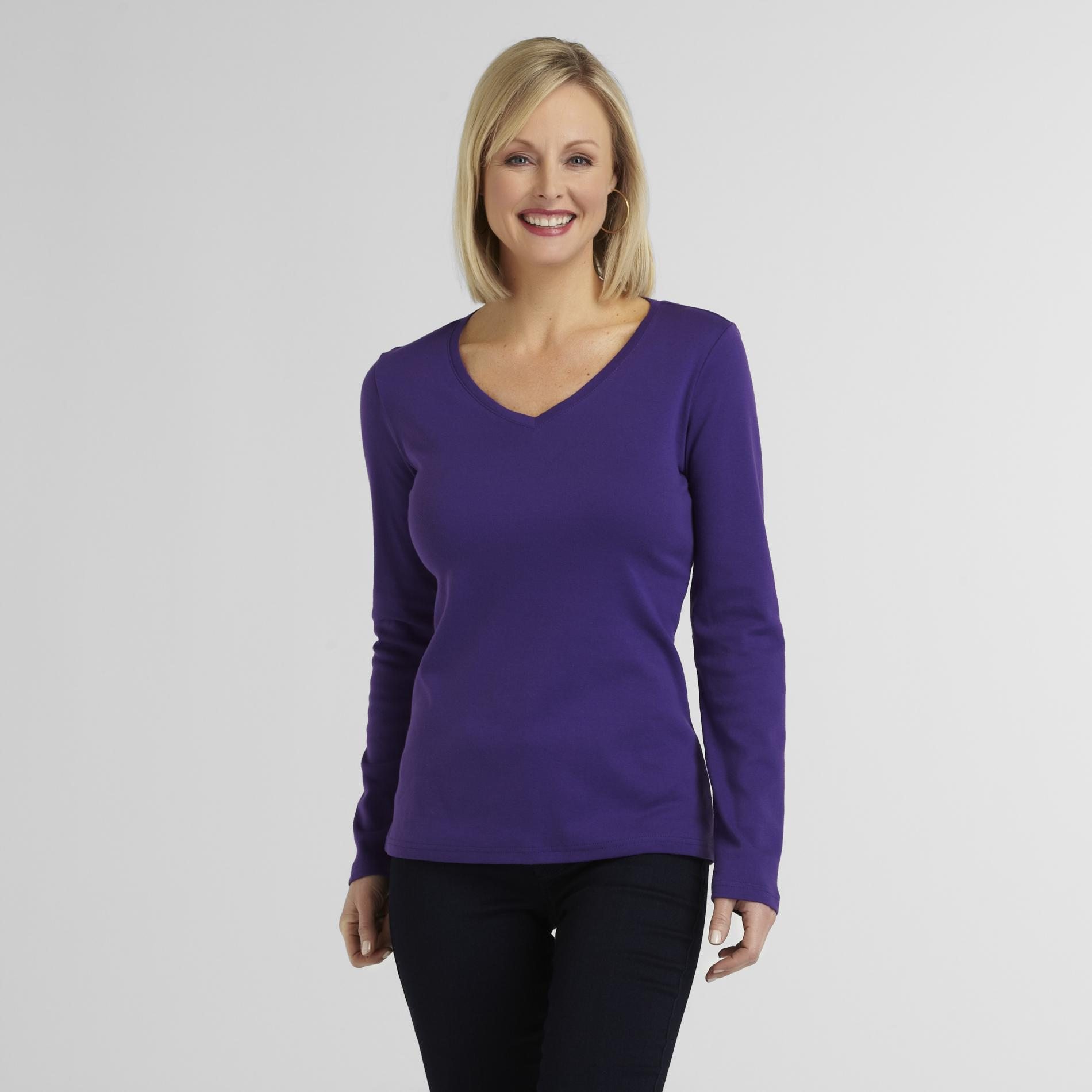 Laura Scott Women's V-Neck T-Shirt at Sears.com