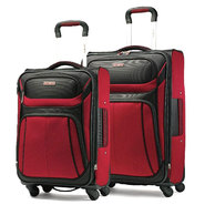 Samsonite Aspire Sport Spinner Luggage Set (Red/Black) at Sears.com