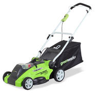 "Greenworks 25322 G-MAX 40V Cordless 16"" Mower-40V 4 AH Li-Ion Battery Inc. at Sears.com"