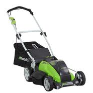 "Greenworks 25312 G-MAX 40V Cordless 19"" Mower-(2) 40V 4 AH Li-Ion Battery Inc. at Sears.com"