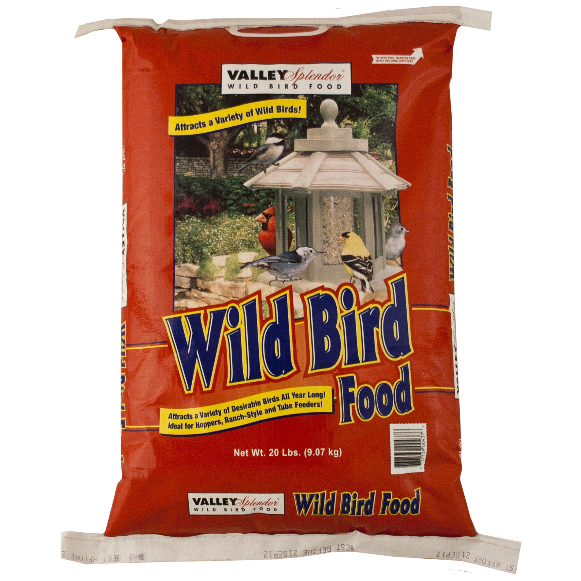 Valley Splendor  20 lbs. Wild Bird Food