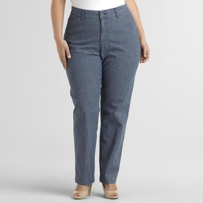Rider Women's Plus Straight-Leg Jeans at Kmart.com