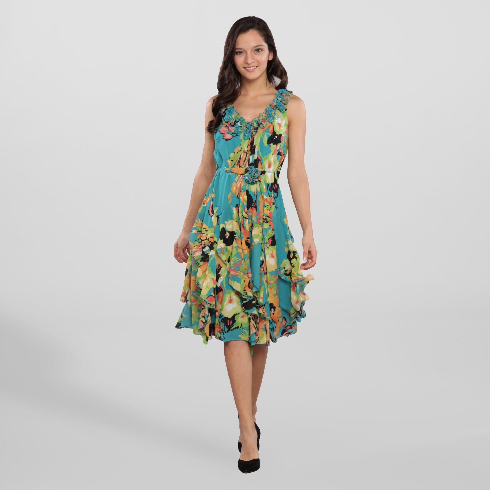 Robbie Bee Women's Party Dress - Floral at Sears.com