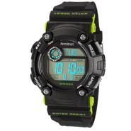 Armitron Men's Black and Green Accent Chronograph Digital Sport Watch at Kmart.com