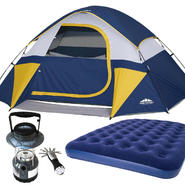 Northwest Territory Sierra Dome Tent with Queen Air Bed & Lantern Bundle at Kmart.com
