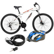 Mongoose Men's Mountain Bike with Helmet & Lock Bundle at Kmart.com