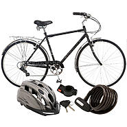 Schwinn 700c Wayfarer Bike with Helmet & Lock Bundle at Sears.com