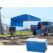 E-Z Up Sierra II Canopy & Cooler Bundle             ...