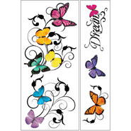 Sticky Pix Removable & Repositionable Ultimate Wall Sticker Mini Mural Appliques - Butterfly at Kmart.com