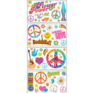 Sticky Pix Removable & Repositionable Ultimate Wall Sticker Mini Mural Appliques - Peace at Kmart.com