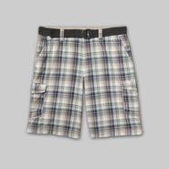 Route 66 Men's Cargo Shorts - Plaid at Kmart.com