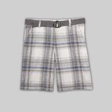 Route 66 Men's Cargo Shorts - Plaid at mygofer.com