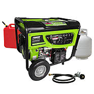 Smarter Tools 7500 Watt Dual Fuel Gasoline / Propane Generator at Sears.com