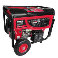 Smarter Tools 9500-Watt Portable Gasoline Generator with Electric Start, Battery, and No-Flat Wheels. EPA and CARB Approved. at Sears.com