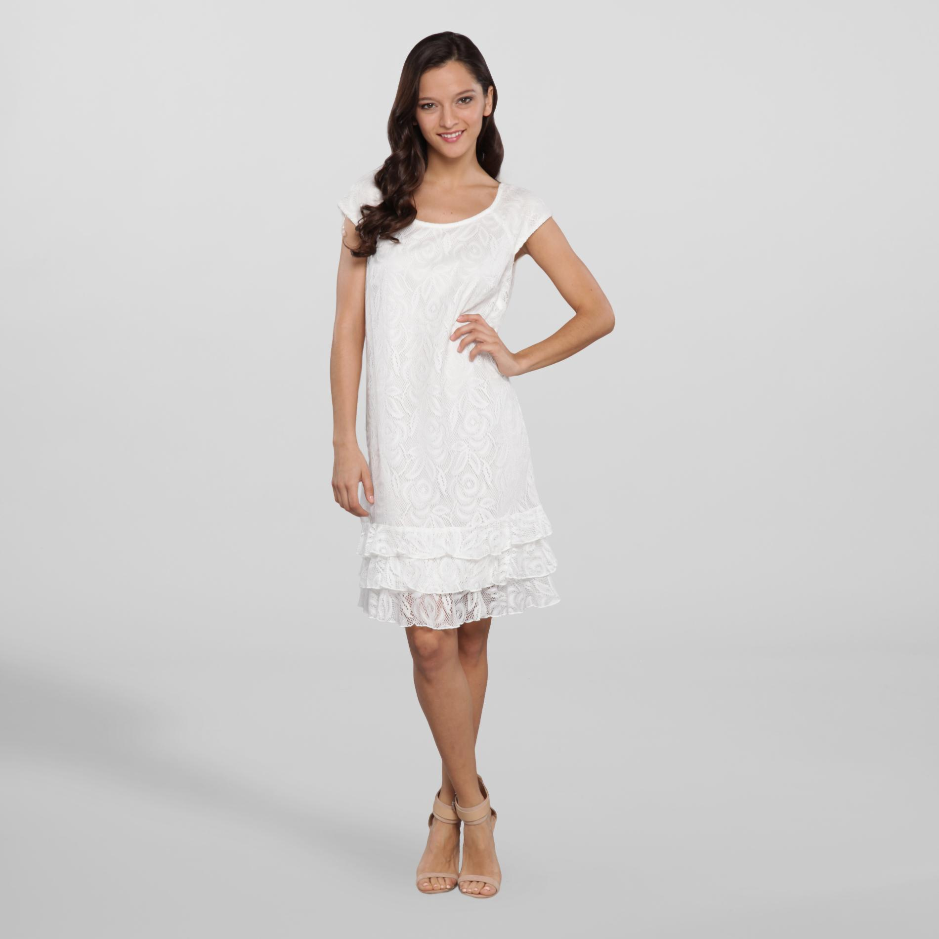 Darian Group Women's Party Dress - Floral Lace at Sears.com