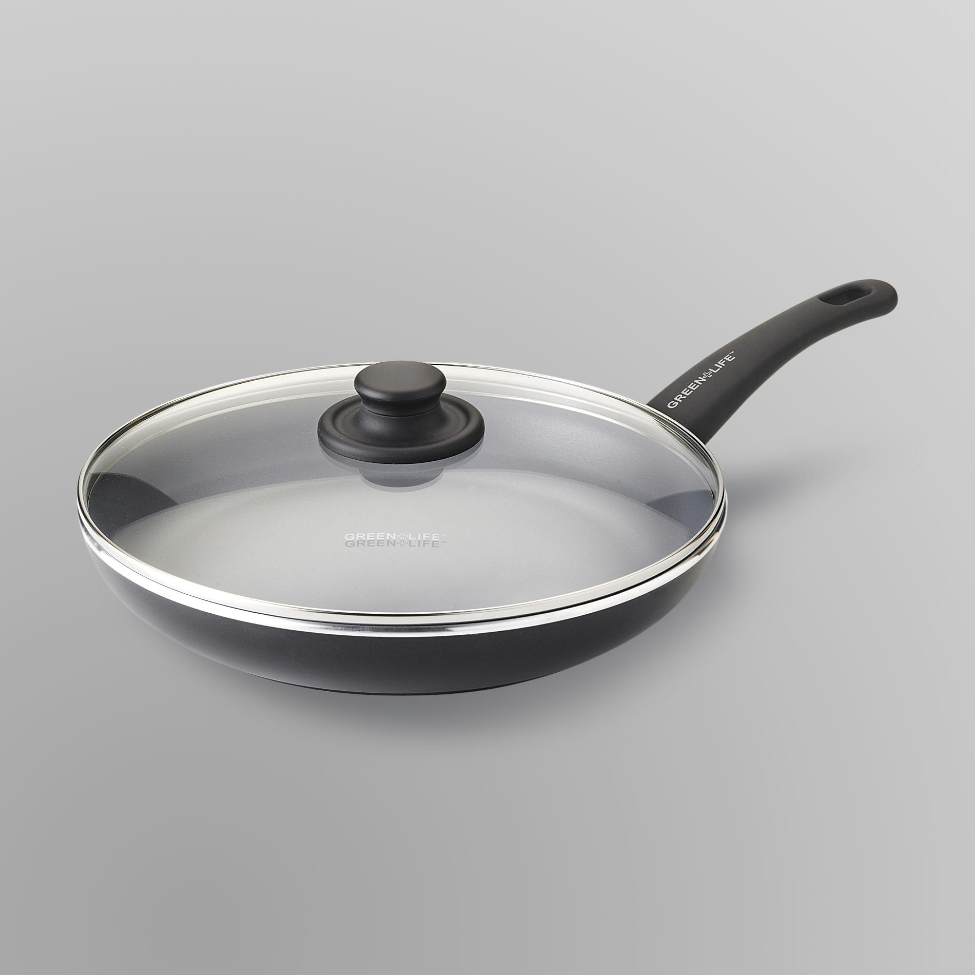 Ceramic Fry Pan & Lid