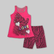 Tempted Apparel Girl's Plus Tank Top & Shorts - Love at Sears.com