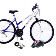 Titan Trailblazer Ladies Mountain Bike with Helmet & Lock Bundle at Kmart.com