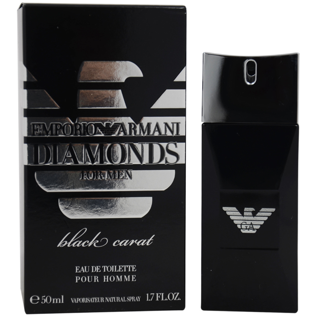 M-4156 Emporio Armani Diamonds Black Carat by Giorgio Armani for Men - 1.7 oz EDT Spray