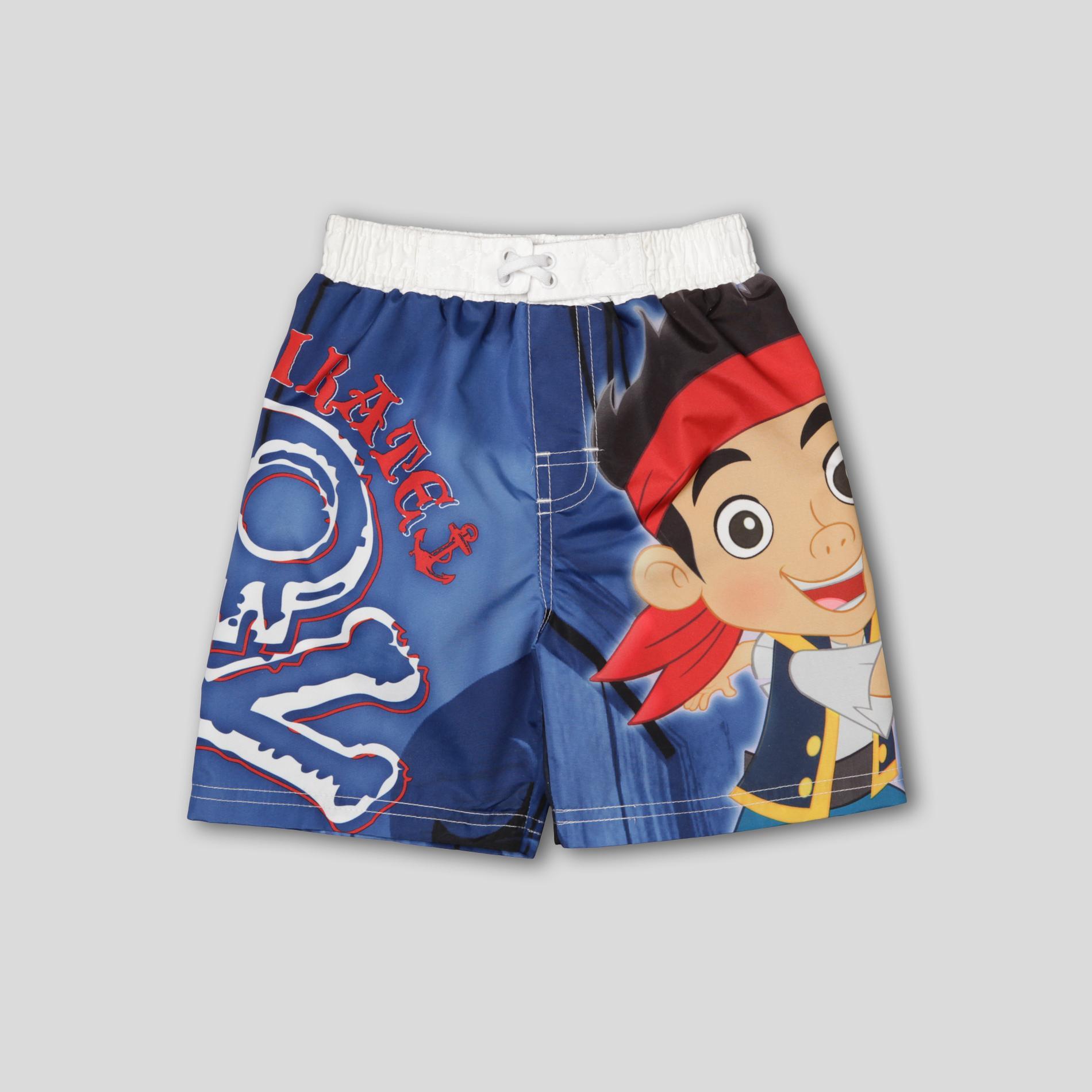 f94bf7fefd5ef Disney Jake & the Never Land Pirates Infant & Toddler Boy's Swim Shorts