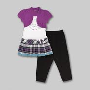 Tempted Apparel Girl's Tunic & Leggings - Necklace at Sears.com