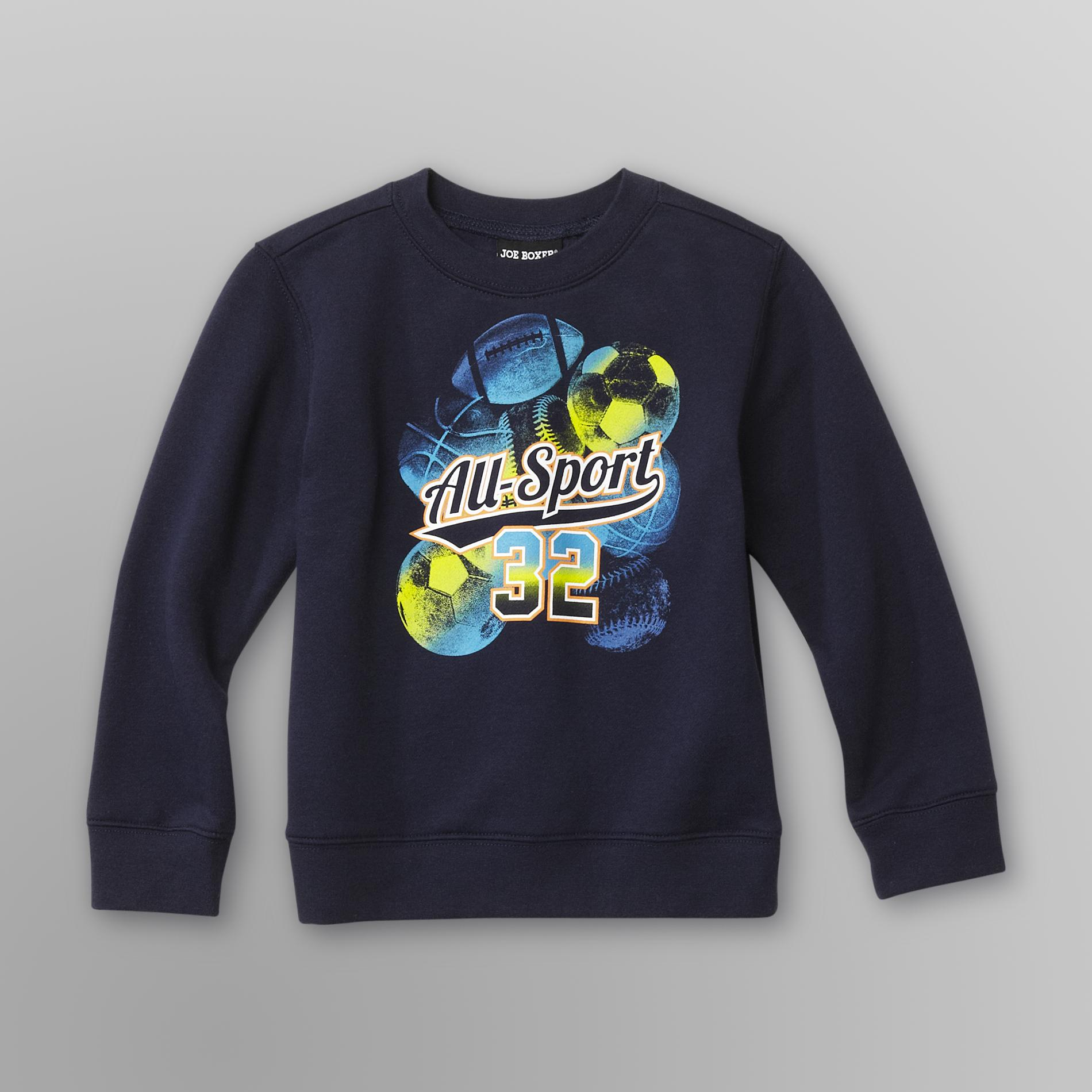 Infant & Toddler Boy's Graphic Sweatshirt -