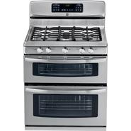 Kenmore 5.8 cu. ft. Double-Oven Gas Range - Stainless Steel at Kenmore.com
