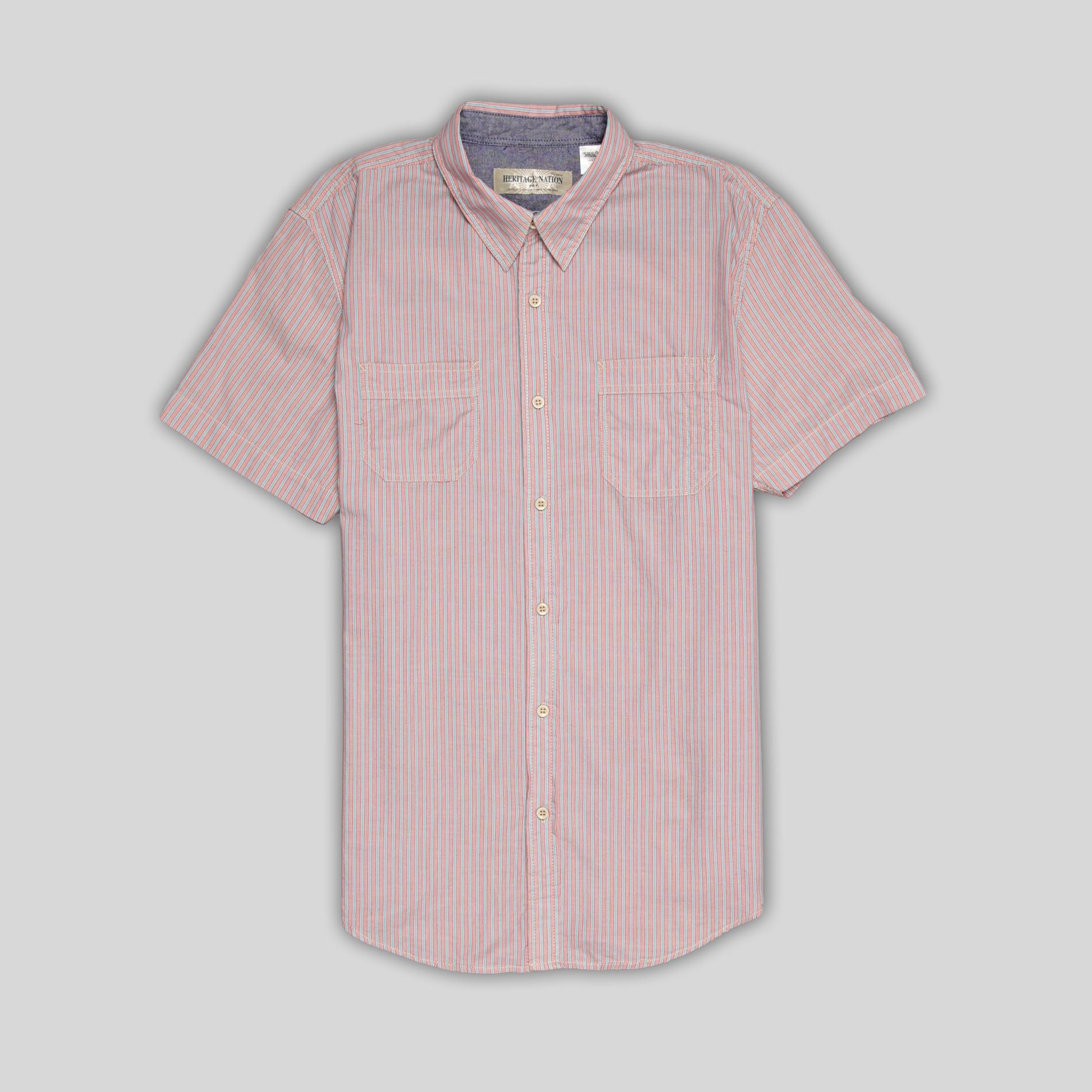 Heritage Nation Men's Shirt - Striped at Kmart.com