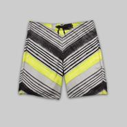 Joe Boxer Men's Board Shorts - Chevron Striped at Kmart.com