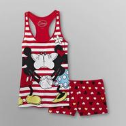 Disney Mickey & Minnie Mouse Women's Plus Short Pajamas at Kmart.com