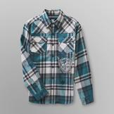 SK2 Boy's Graphic Flannel Shirt - Plaid at mygofer.com