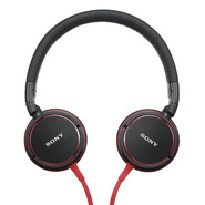 Sony ZX Series Over-The-Head Stereo Headphones-Black/Red at Sears.com