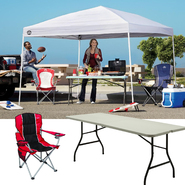 Shade Tech 10x10 Instant Canopy with Folding Table & Chair Bundle at Sears.com