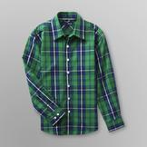 Basic Editions Boy's Woven Shirt - Plaid at mygofer.com