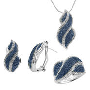3 Piece Plated Diamond Set at Sears.com