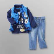 Disney Baby Mickey Mouse Infant & Toddler Boy's Vest Set at Kmart.com